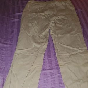 NEW YORK&COMPANY KHAKI PANTS WOMEN'S SIZE 12